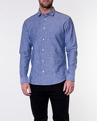 Slimlinen Shirt Medium Blue Denim