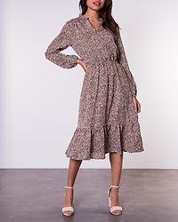 Vitsa Dress Graphic Cream/Lion