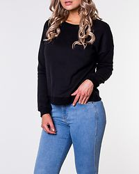 Awesome O-Neck Regular Sweat Black