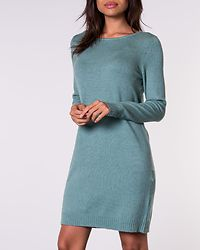 Ril Knit Dress Oil Blue/Melange