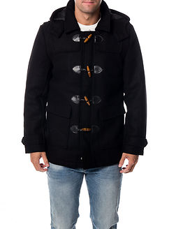 Orville Duffle Coat Black