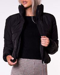 Dolly Short Puffer Jacket Black