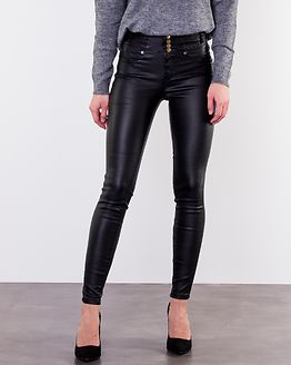 Daniella Coated Pants Black