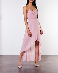 Ofelia Crochet Dress Pink
