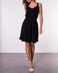 Laia V-Neck Dress Black
