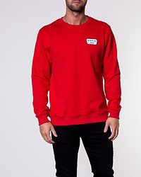 Emblem Sweatshirt Red