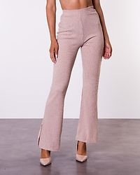 Lesley Rib Trousers Beige