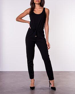 Bell Lace Jumpsuit Black