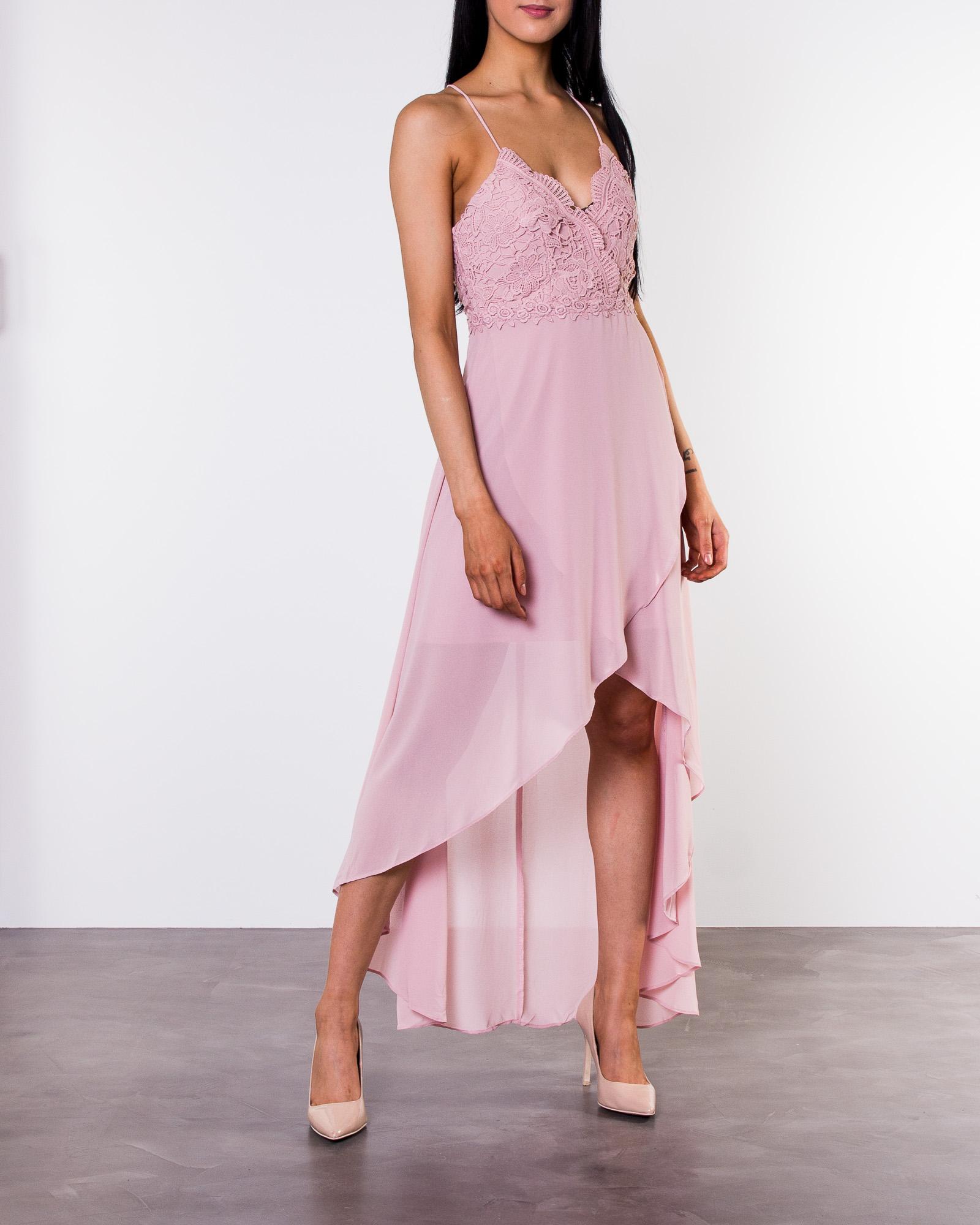 34348a7c Chiara Forthi, Ofelia Crochet Dress Pink   Women's Evening dresses    HOUSEOFBRANDON.COM