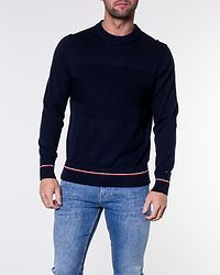 Structured Flag Sweater Sky Captain