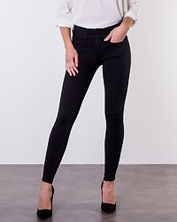 Anna Mid Ankle Jeans Black