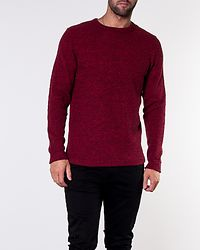 Victor Crew Neck Red Dahlia/Twisted