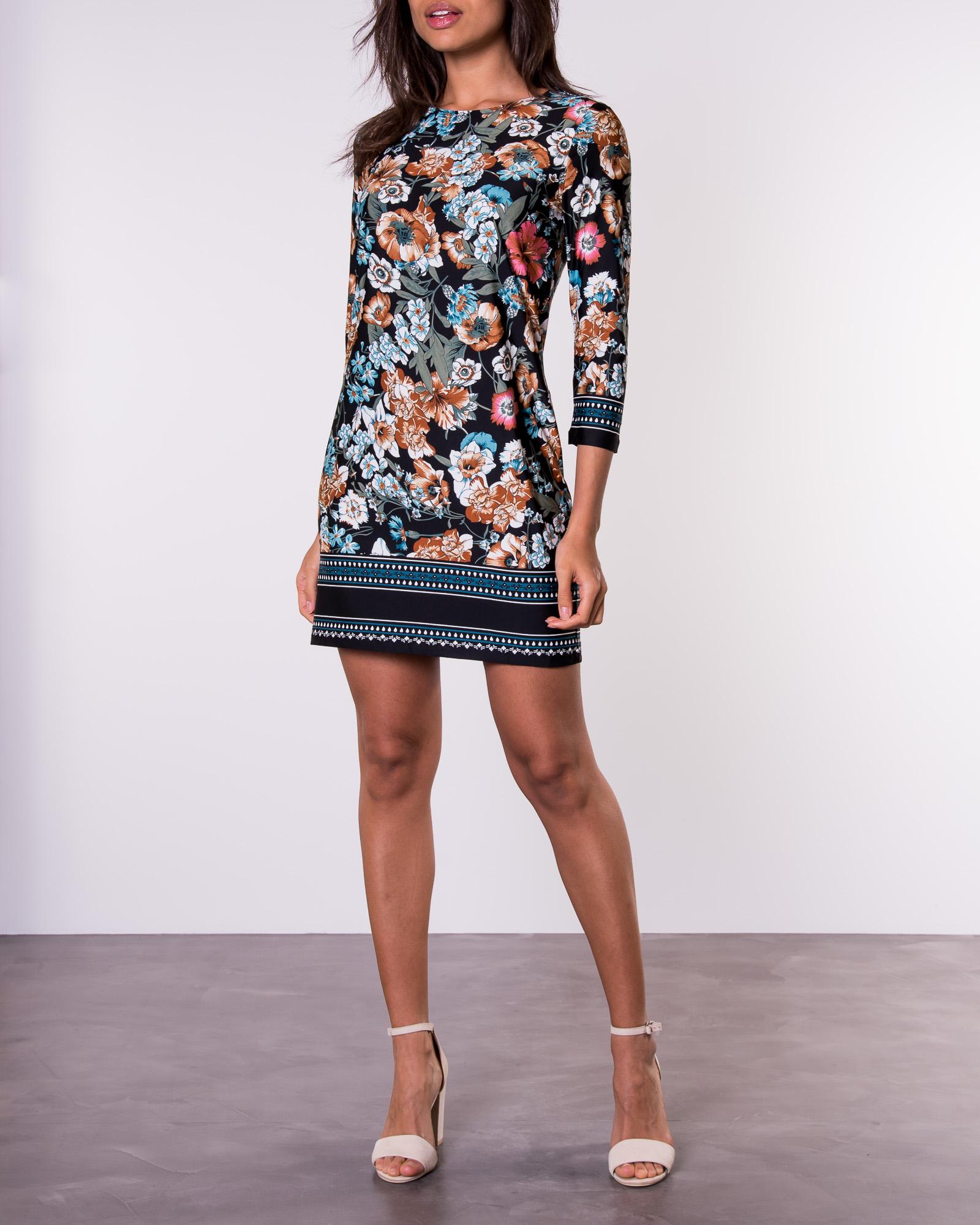 Happy Holly, Blenda Dress BlackPaisley | ALE Mekot