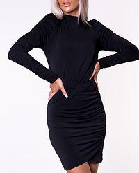 Jayda Short Dress Black/Solid