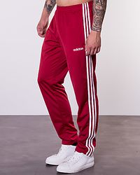 Essentials 3-Stripes Tapered Pant Red
