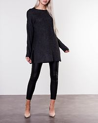 Brilliant Long Blouse Black