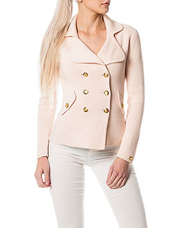 Chiara Heavy Knit Blazer Light Pink