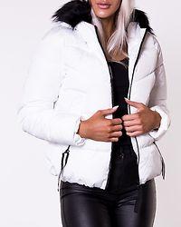 Monica Short Puffer Jacket Bright White