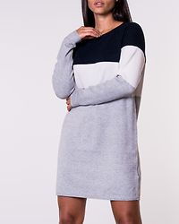 Lillo Dress Knit Night Sky/White Melange