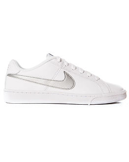 Court Royale White/Metallic Silver