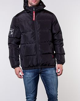 Kalsoy Hooded Down Jacket Black