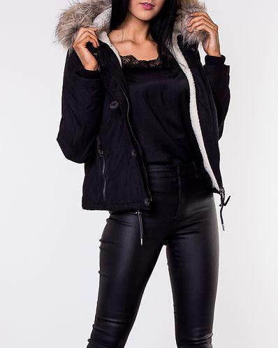 Peyton Short Jacket Black bc183dcb02