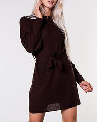 Long Sleeve Dress Brown