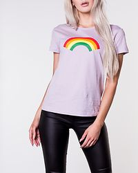 Heaven Print Top Lavender Frost/Rainbow