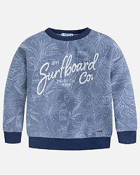 Surfboard Sweatshirt Blue