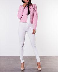 Westa Color Denim Jacket Blush