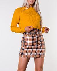 Franka Belted Skirt Checked/Beige/Red
