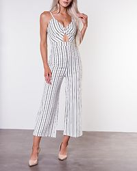 Dunia Jumpsuit Offwhite/Black