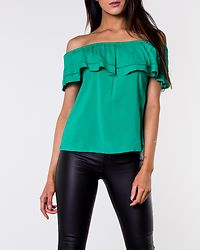 Kaya Offshoulder Lace Top Simply Green