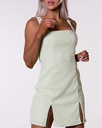 Mint Check Dress