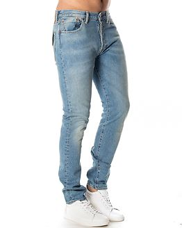 501 Skinny West Coast Light Blue Denim