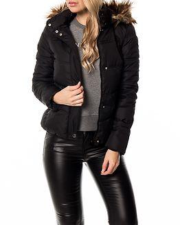 Elena Padded Hood Jacket Black
