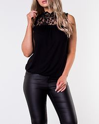 Basha Funnel Midi Top Black