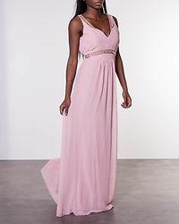 Tilia Embellished Dress Powder Pink