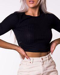 Tiana Cropped Top Black