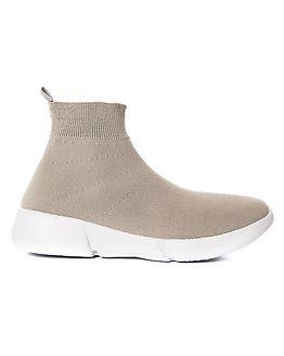 Knit Sneaker High Grey
