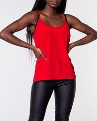 Sasha Lacey Singlet Chinese Red