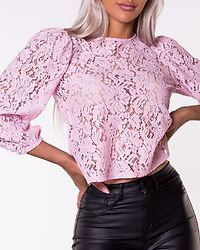 Gertie 3/4 Lace Top Winsome Orchid