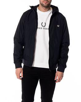 Hooded Brentham Jacket Navy