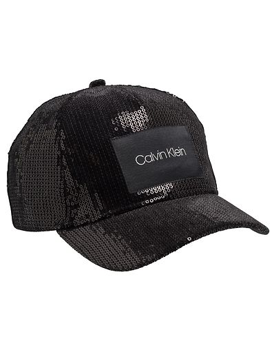9593c8a62cf Sequin Cap Black