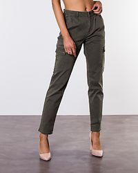 Bronx Cargo Relaxed Pants Olive Night