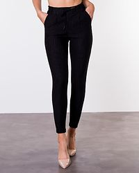 Power Pinstripe Pants Black/White