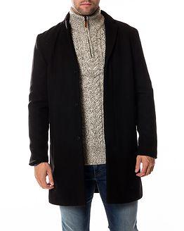Brove Wool Coat Black