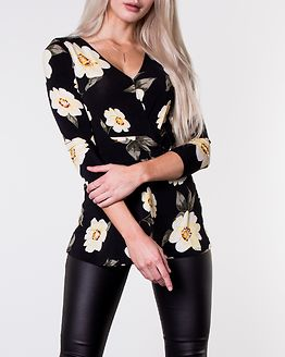 Becca Top Patterned/Black