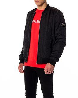 Double Side Pocket Jacket Black