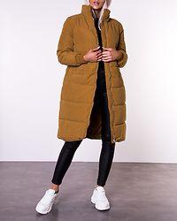 Noble X-Long Collar Jacket Golden Brown
